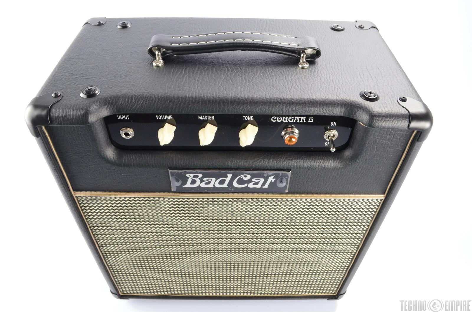 bad cat cougar 5 class a 5w all tube guitar combo amp 1x12 amplifier new 21836 ebay. Black Bedroom Furniture Sets. Home Design Ideas