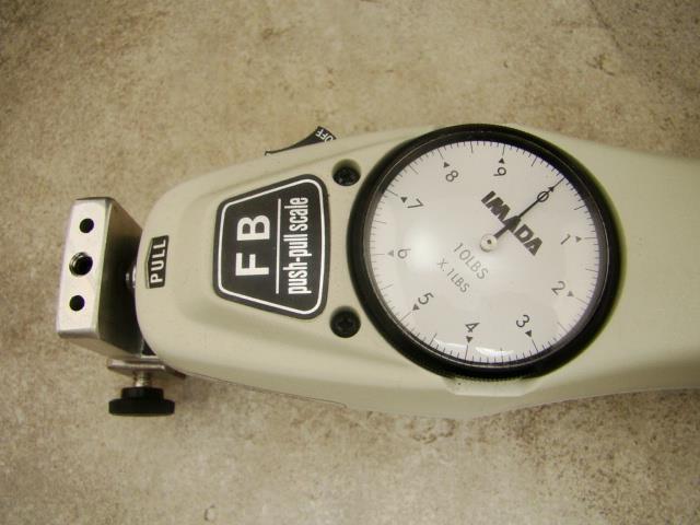 Push Pull Force Gauge : Imada force gauge fb lb lbs mechanical push pull