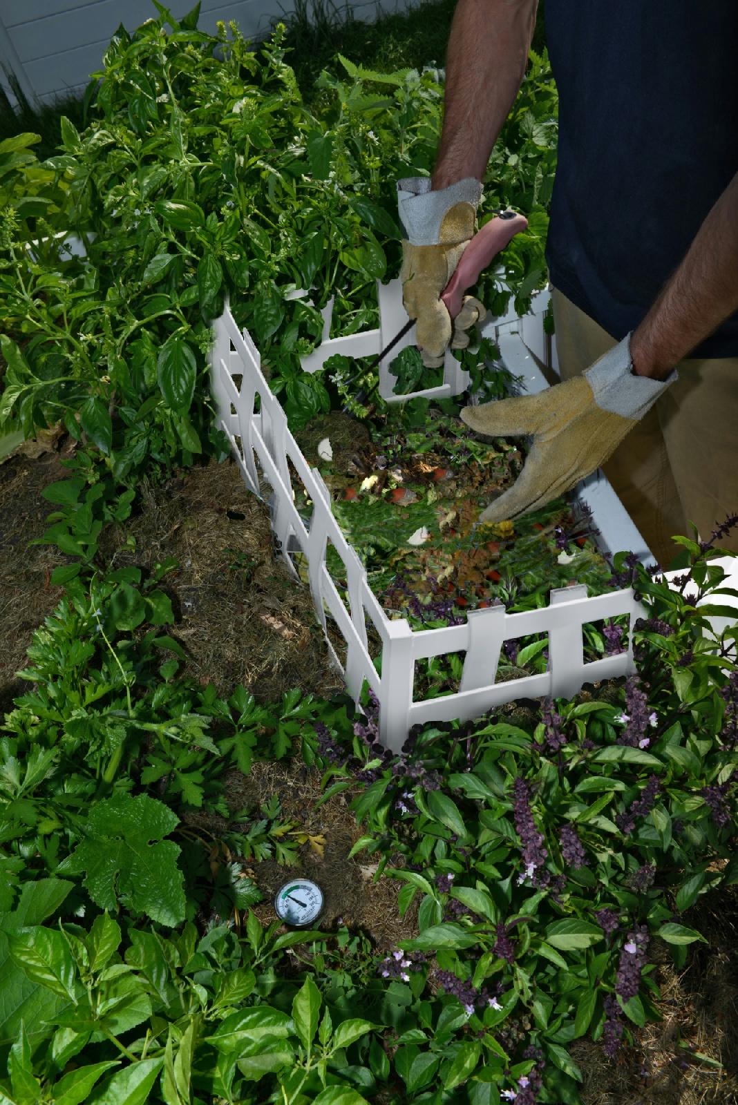 New England Arbors 6x6 African Keyhole Garden Bed VA68239