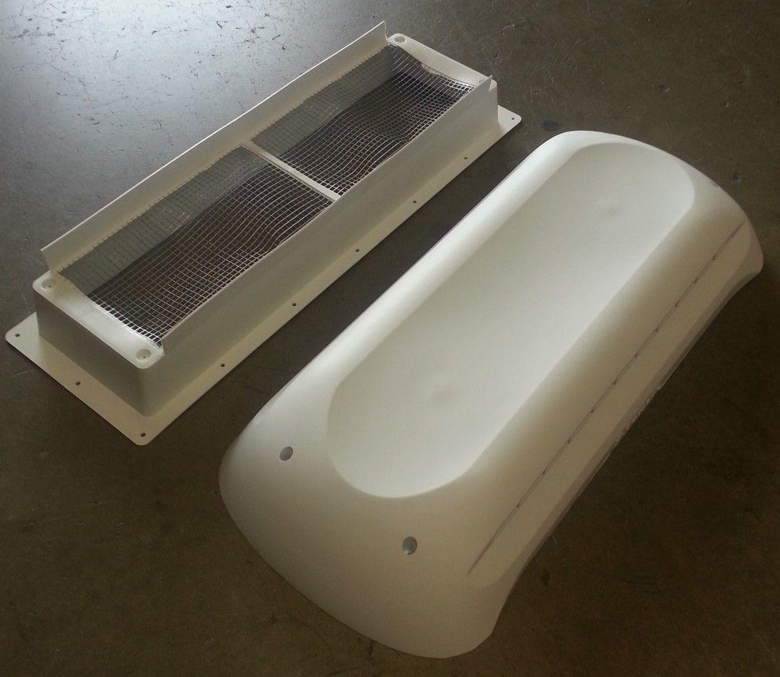 Dometic New Style Refrigerator Roof Vent Cap Amp Base Kit