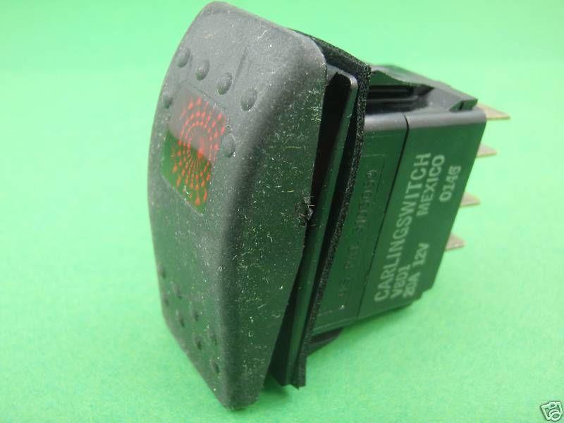 Onan Rv Generator Rocker Start Switch 308 1038
