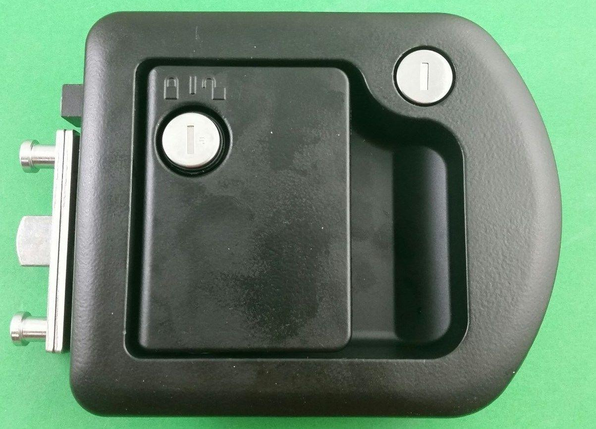 Rv Motorhome Entry Door Lock 60 650 Trimark Black 060 1650