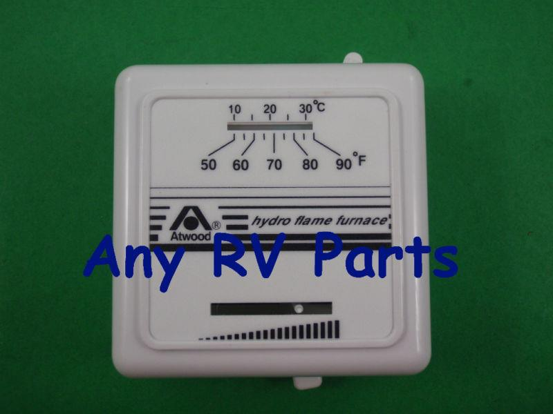 atwood 38453 hydro flame rv furnace wall thermostat ebay. Black Bedroom Furniture Sets. Home Design Ideas