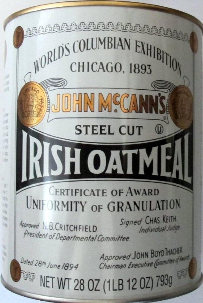 Is john mccann oatmeal gluten free