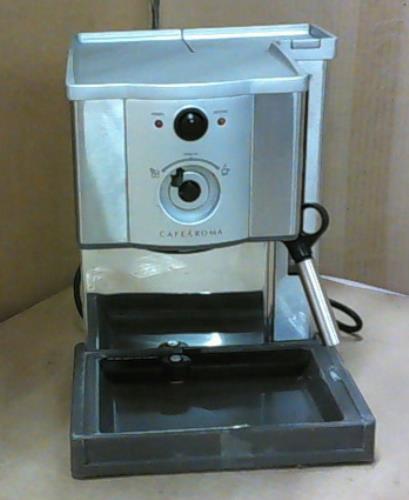 Breville Espresso Coffee Maker Model Esp8xl : Breville ESP8XL Cafe Roma Espresso Machine Silver USD 230 as Is eBay