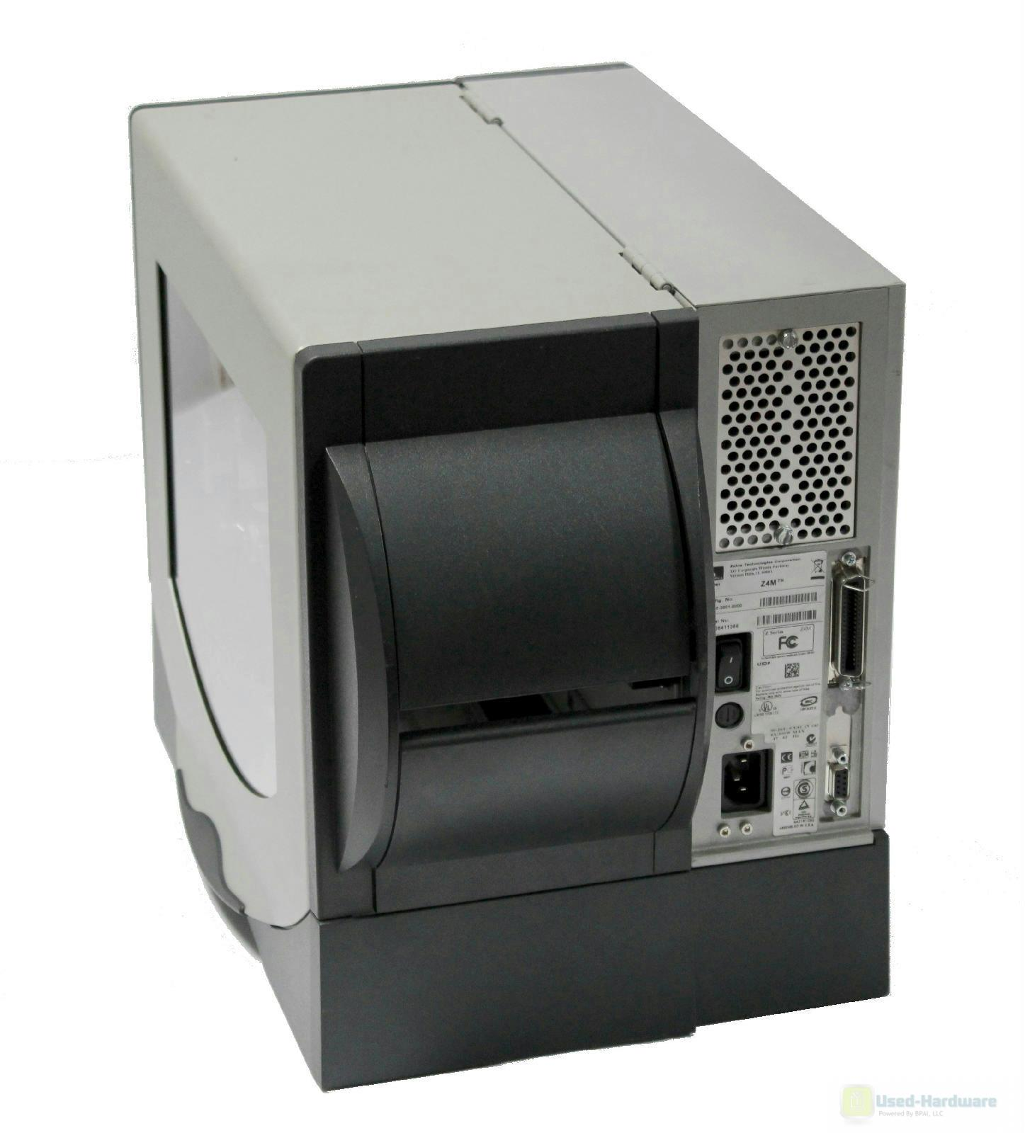 Zebra Z4M Plus Z4M00-2001-0000 Thermal Barcode Label Tag ...