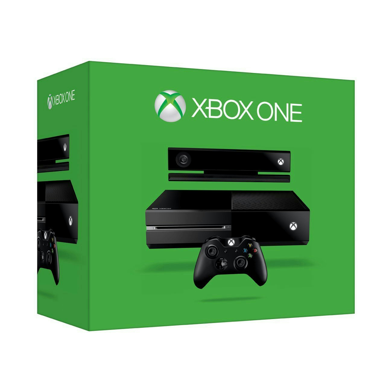 microsoft xbox one 500gb console with kinect black ebay. Black Bedroom Furniture Sets. Home Design Ideas