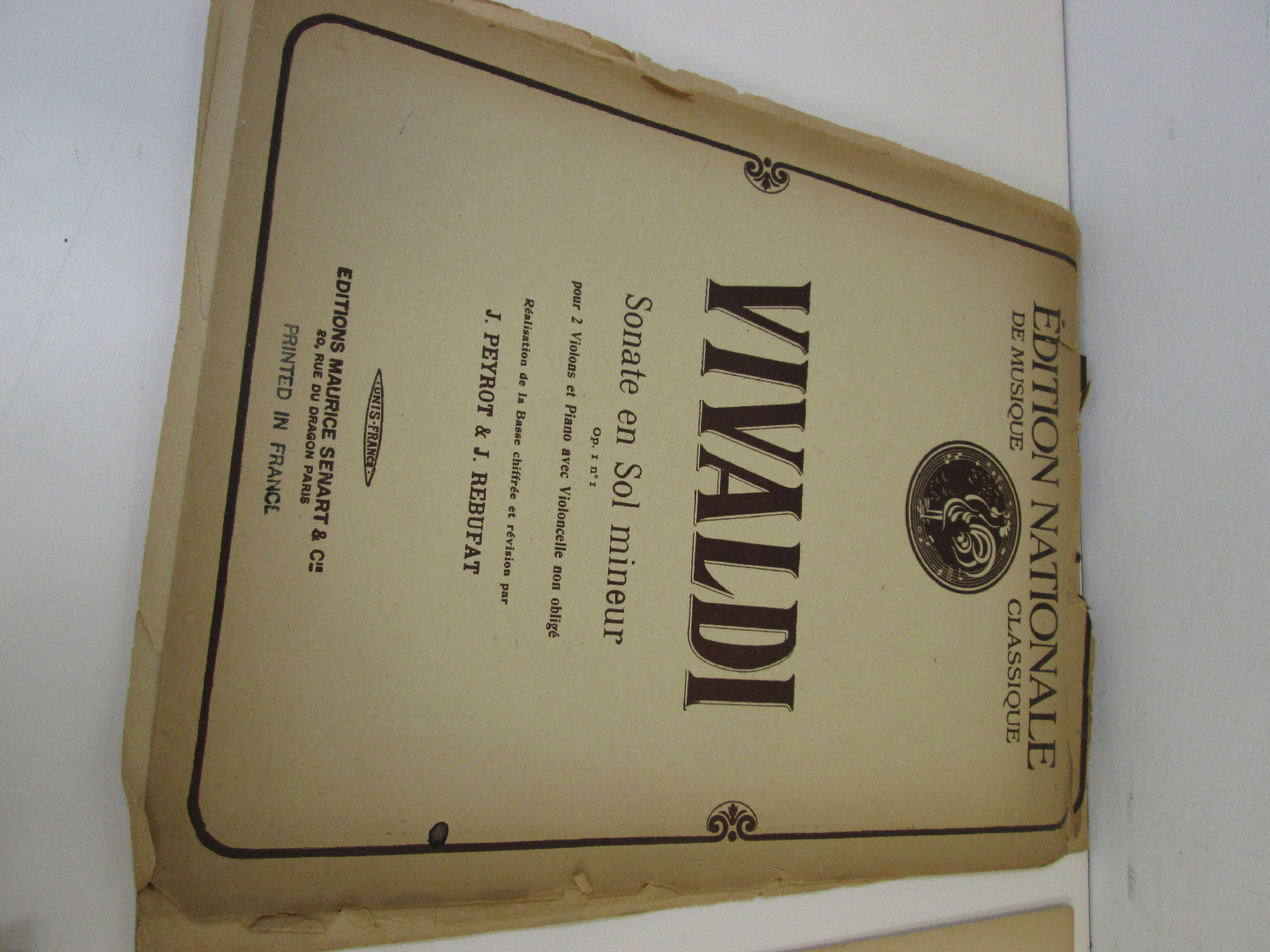 Lot of Antique Classical Sheet Music Vivaldi Beethoven ...