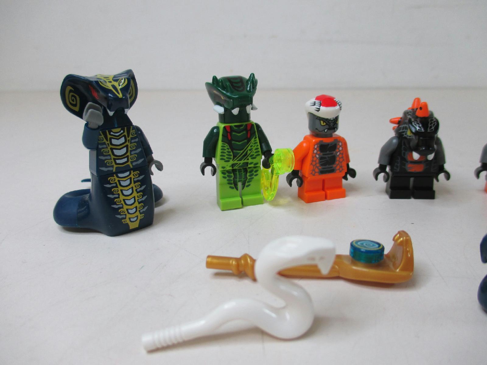 Lot of 8 lego ninjago snake people minifigures ebay - Serpent lego ninjago ...