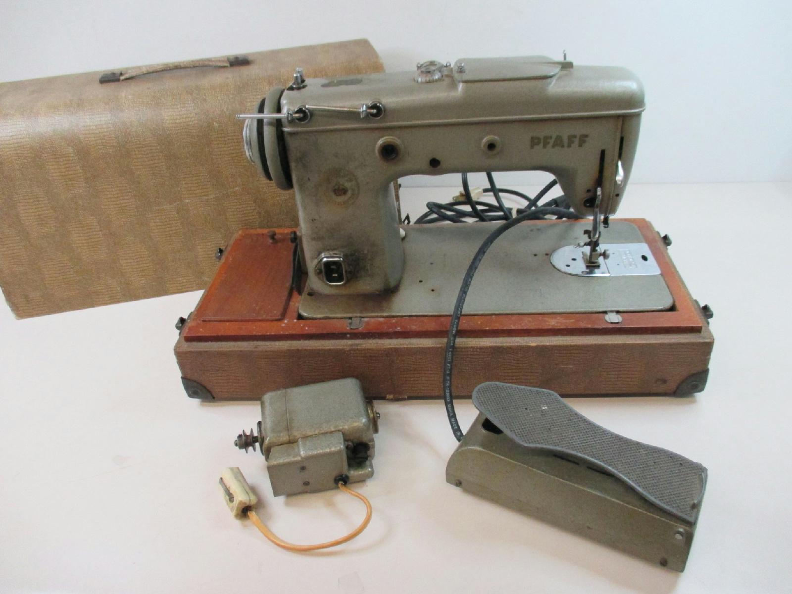 vintage pfaff 230 sewing machine