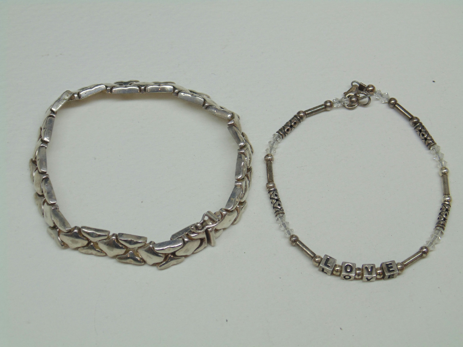 sterling silver jewelry lot failed magnet test bracelet