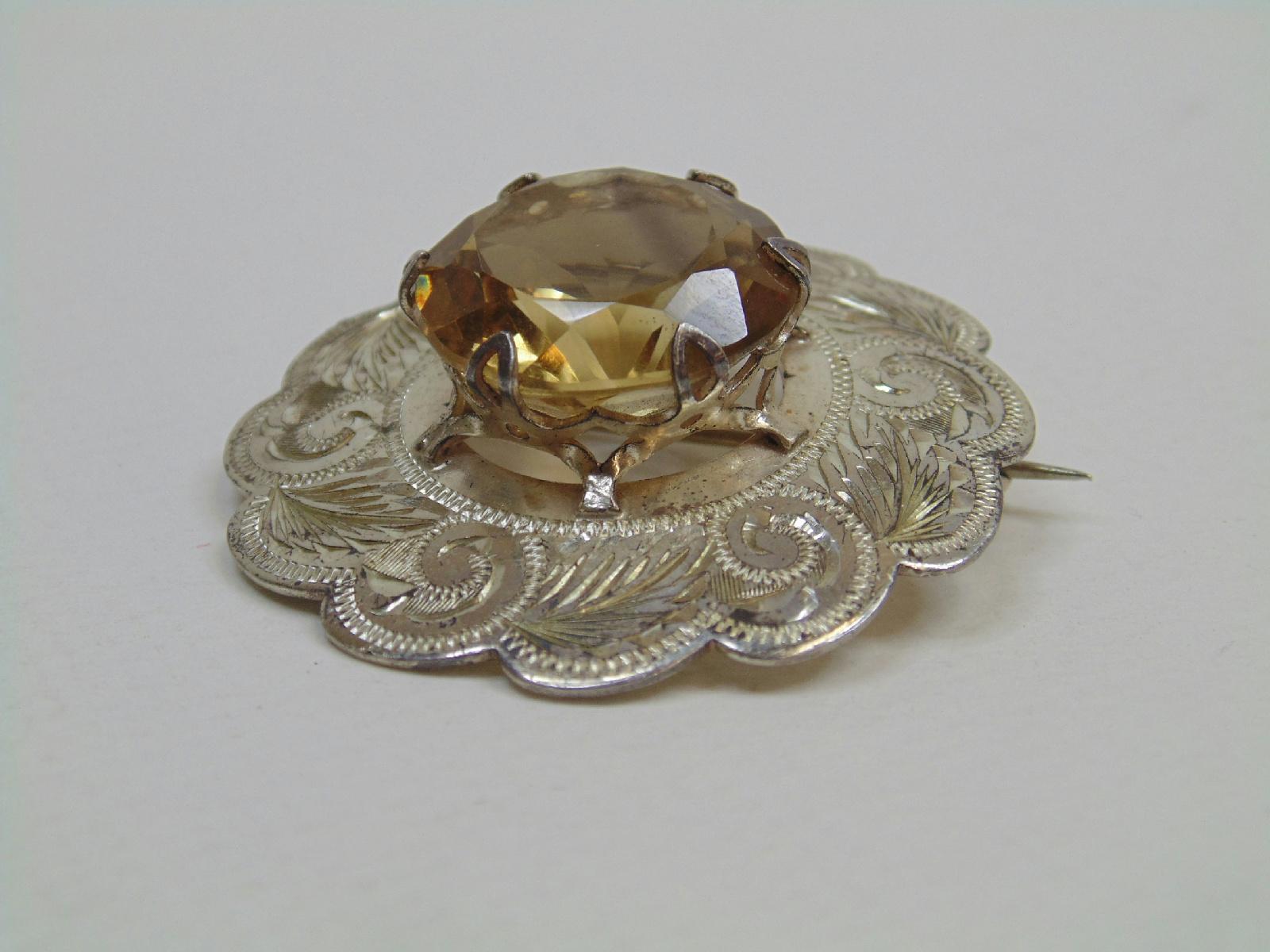 vintage hallmarked sterling jewelry scottish edinburgh