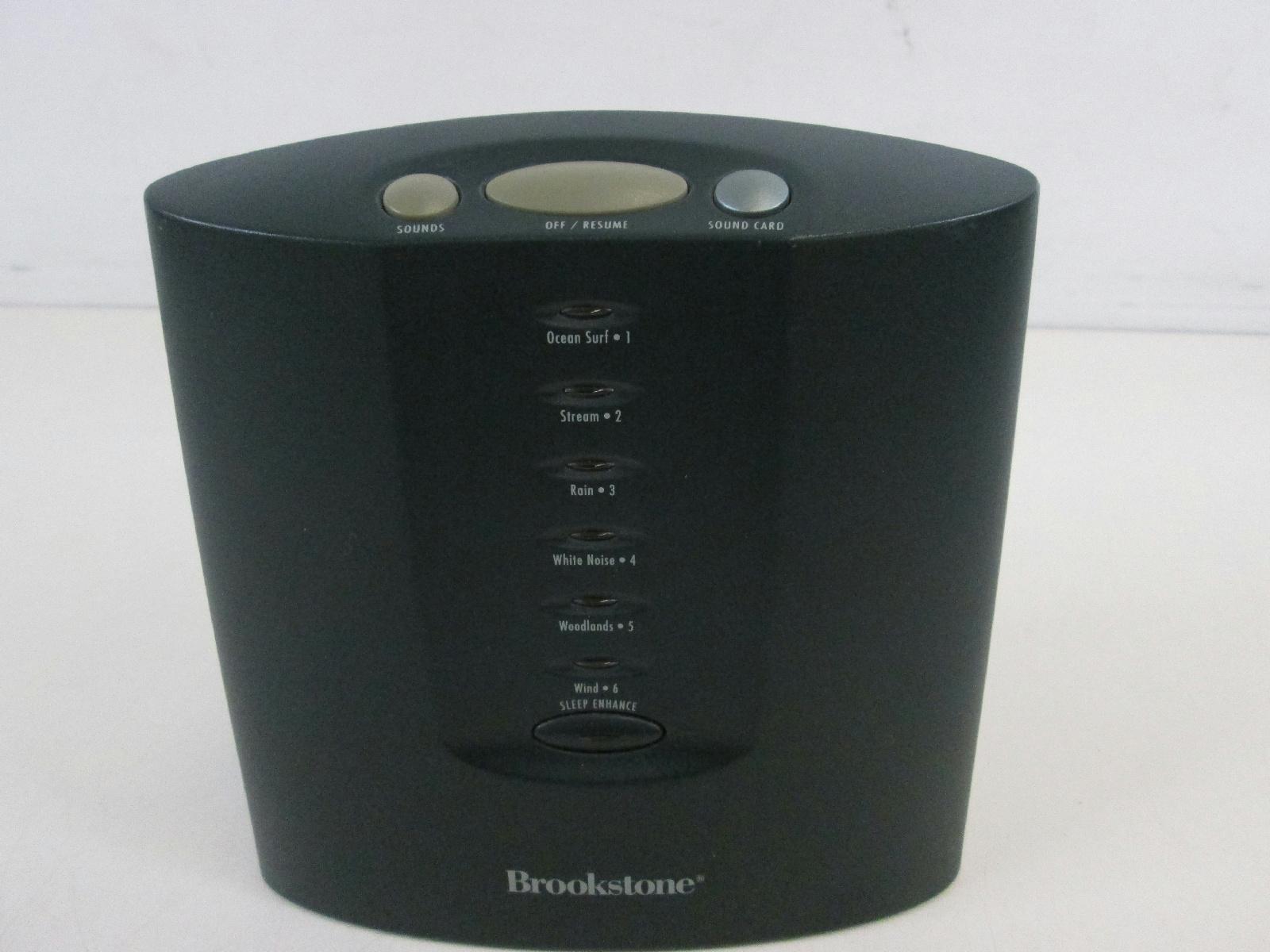 brookstone sound machine