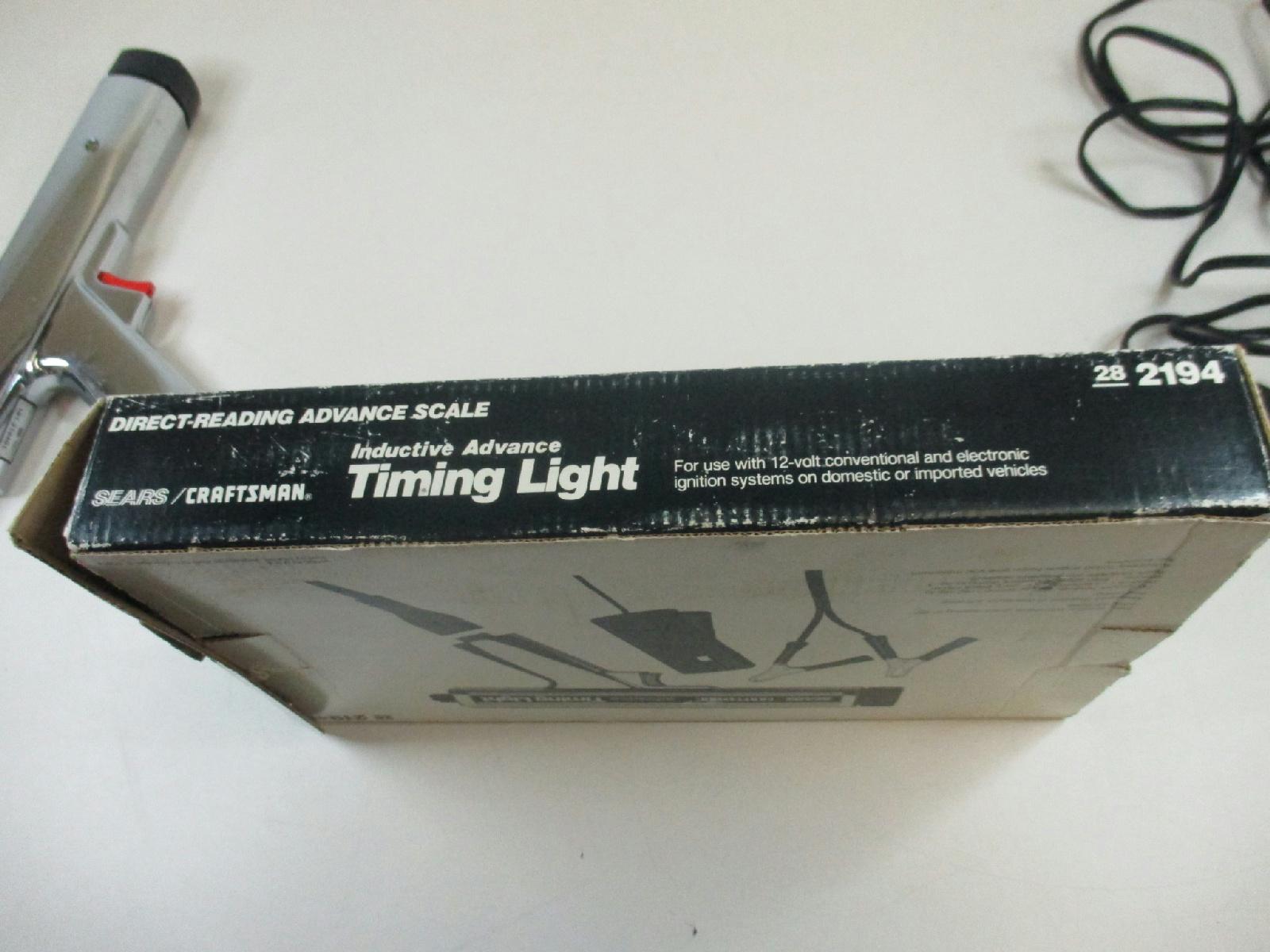 advance timing light instructions