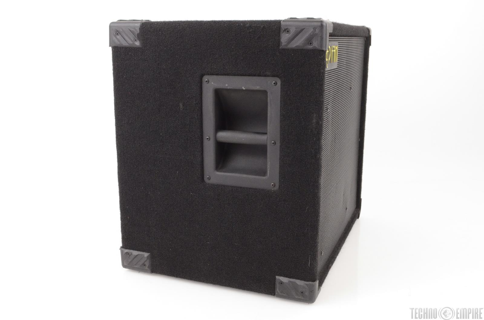 1x15 Guitar Cabinet Epifani T115 Bass Guitar 1x15034 400w 8 Ohm Speaker Cabinet