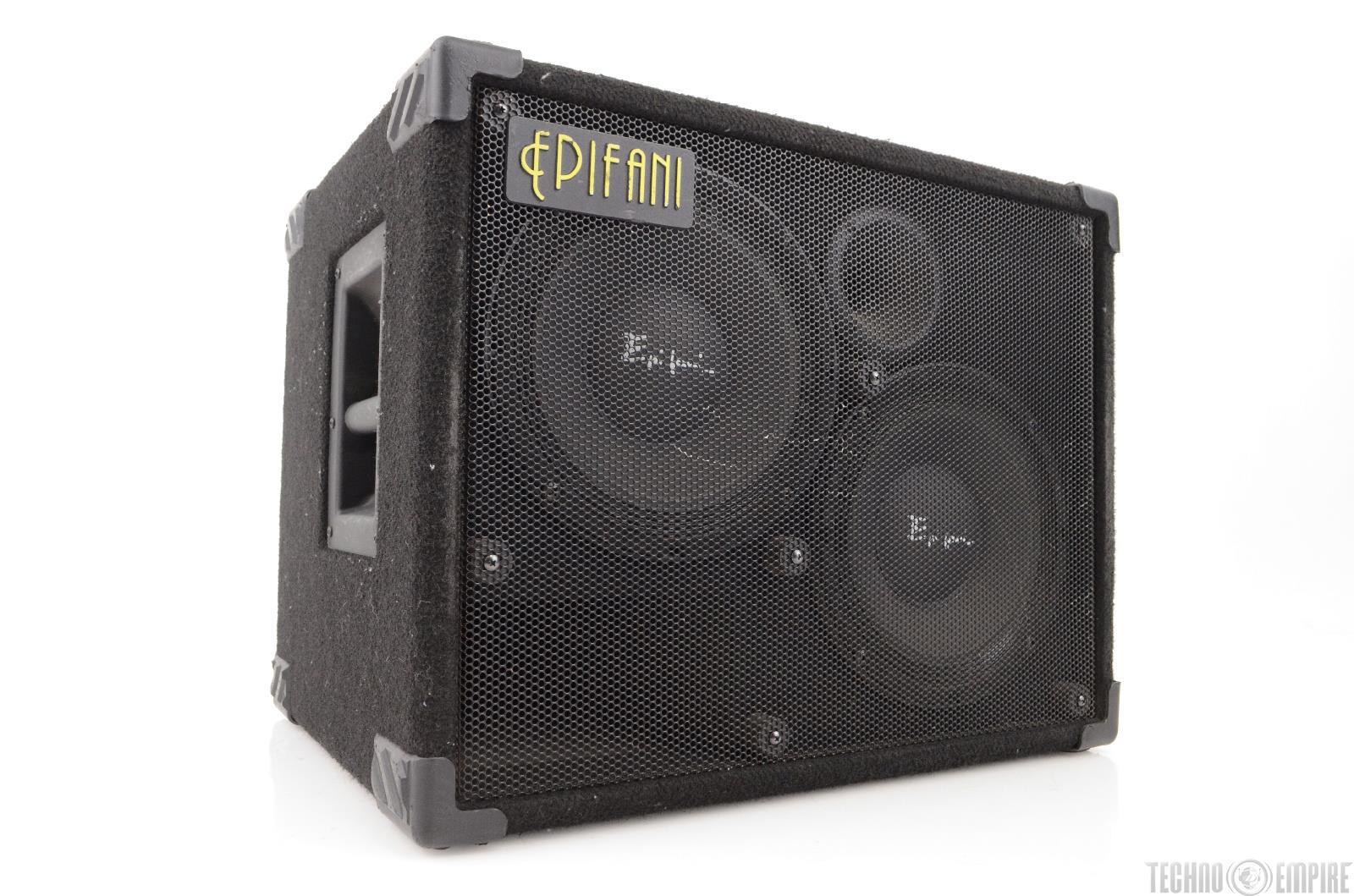 epifani t210 2x10 bass guitar speaker cabinet cab 22385 ebay. Black Bedroom Furniture Sets. Home Design Ideas