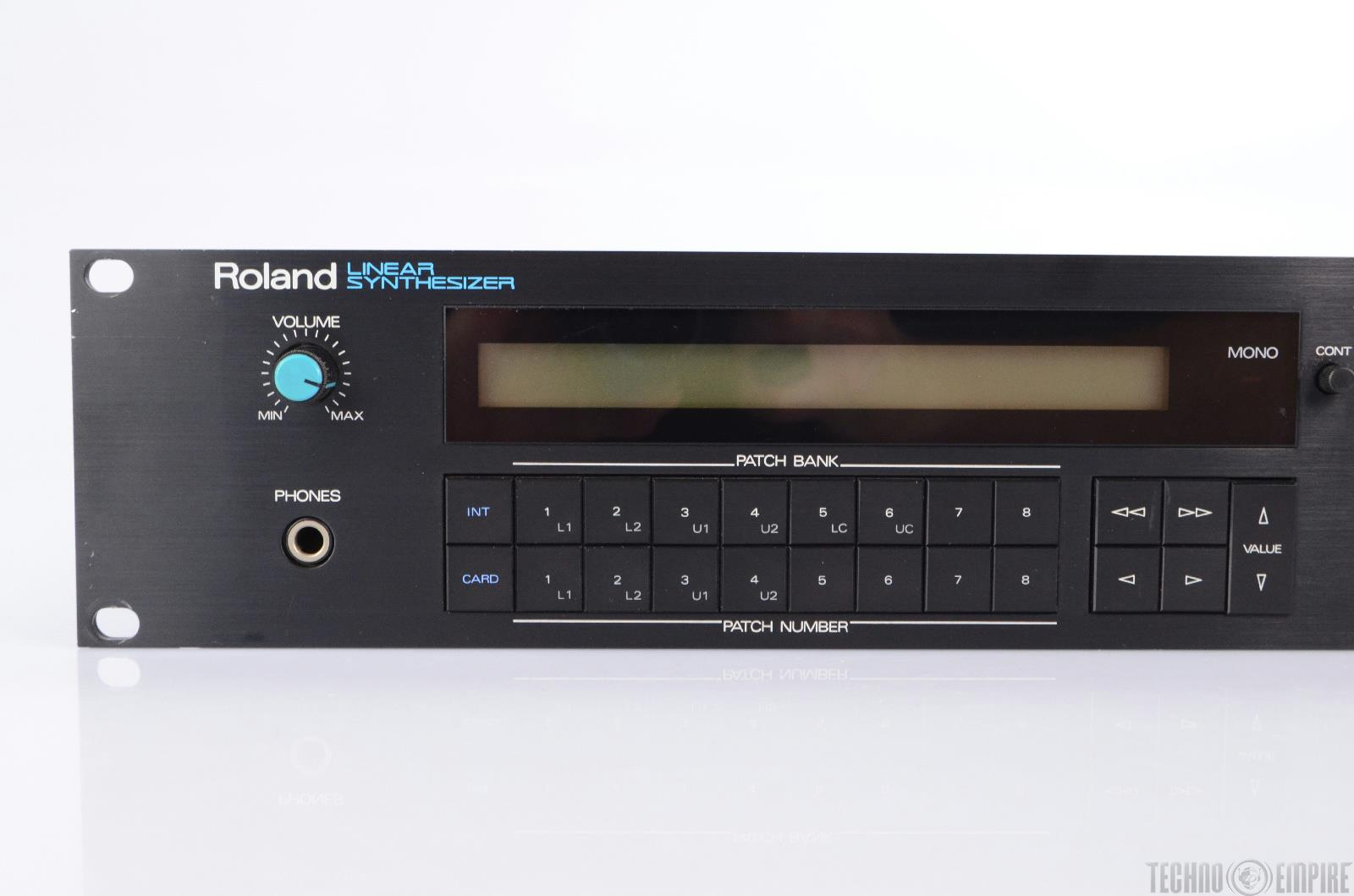 roland d 550 linear synthesizer midi sound module for repair or parts 22434 ebay. Black Bedroom Furniture Sets. Home Design Ideas