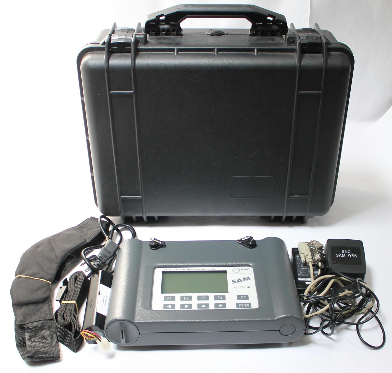 Berkeley Nucleonics Corp Bnc Model Sam 935 1b Portable