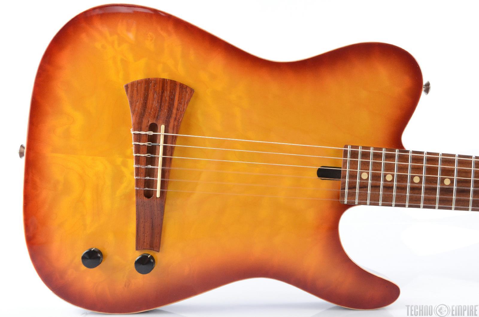 1992 sadowsky electric nylon string guitar w fender case 22499 ebay. Black Bedroom Furniture Sets. Home Design Ideas