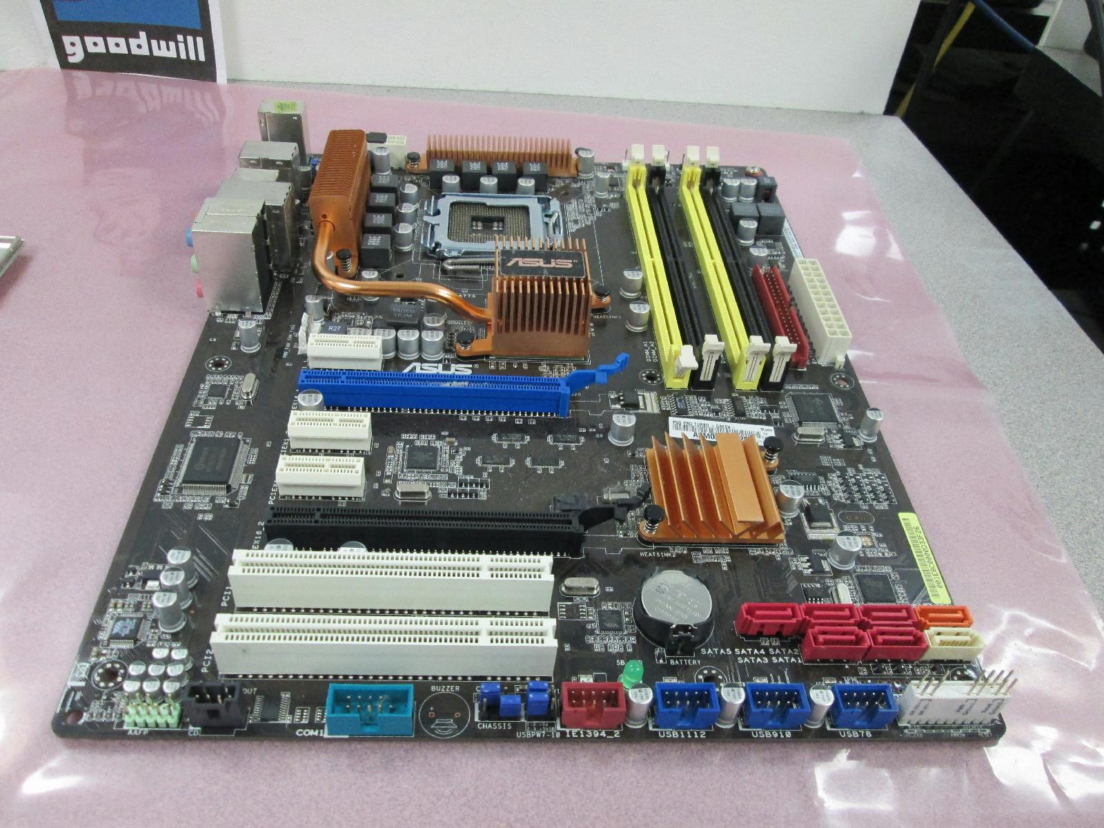 Asus p5q pro memory slots - Nm slot cover