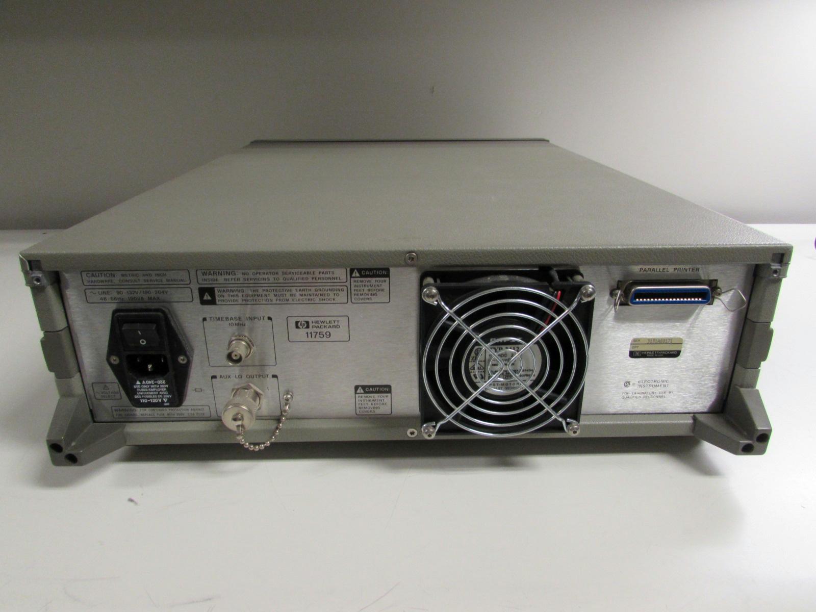Agilent Network Simulator : Agilent keysight b rf channel simulator mhz