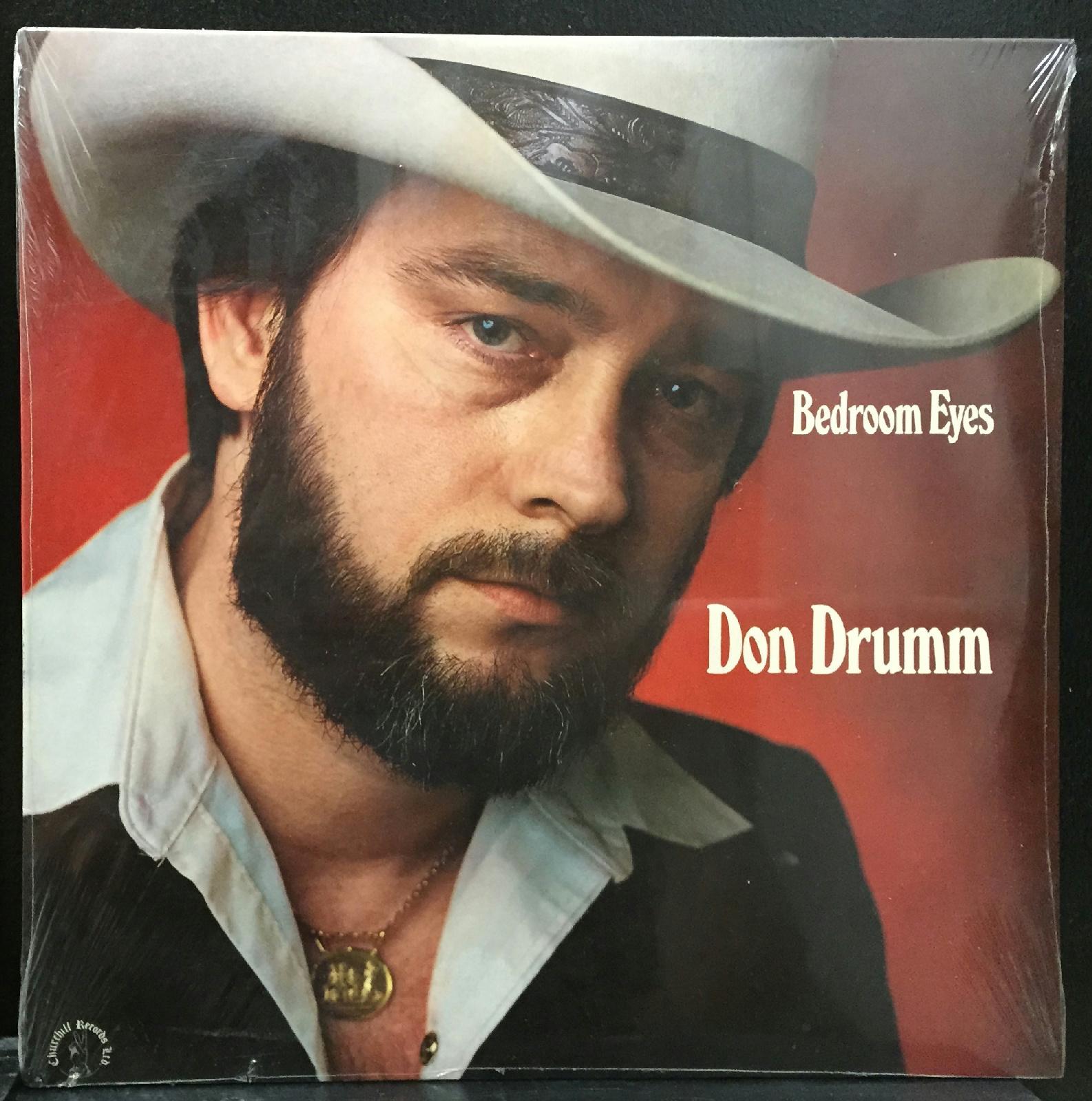 Don Drumm Bedroom Eyes LP New Sealed 1978 Churchill ...