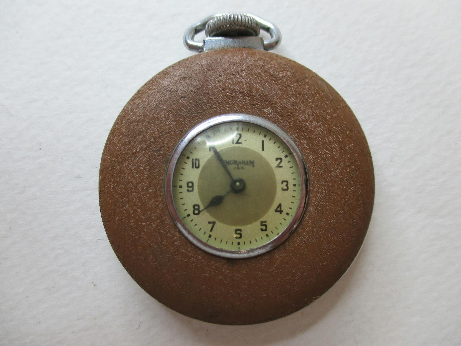 vintage ingraham pocketwatch