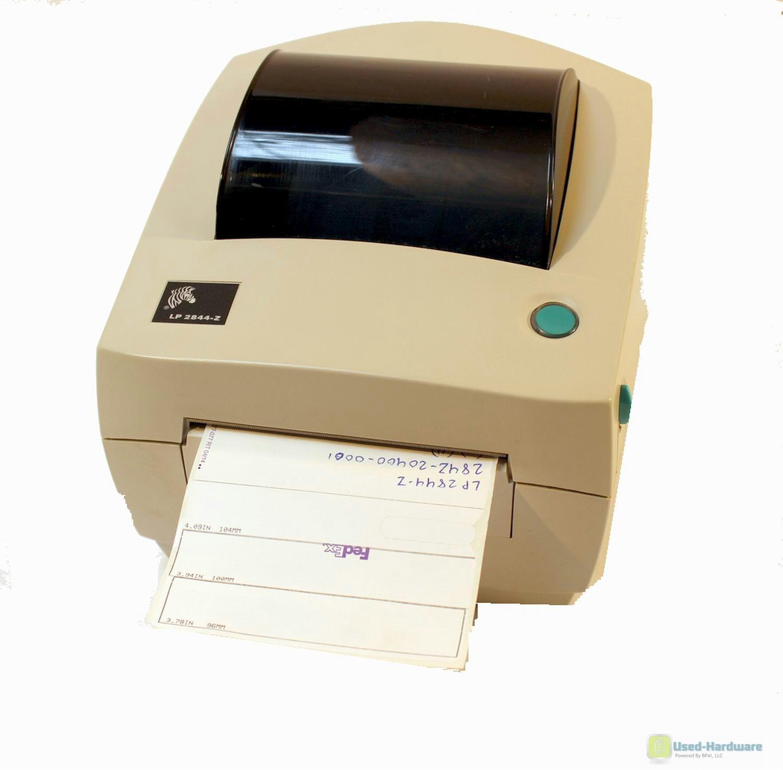 z 203c 0001 | Zebra LP2844-Z 284Z-20400-0001 Direct Thermal Barcode ...