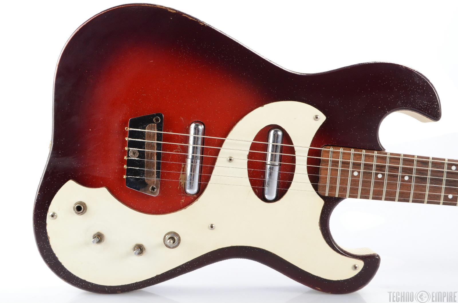 Vintage SEARS / SILVERTONE Model 1457 Electric Guitar w ...