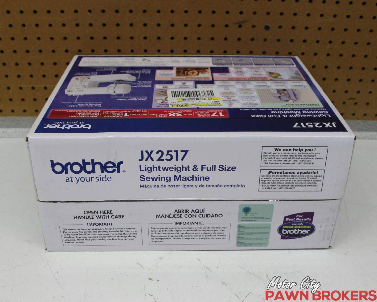 jx2517 lightweight and size sewing machine
