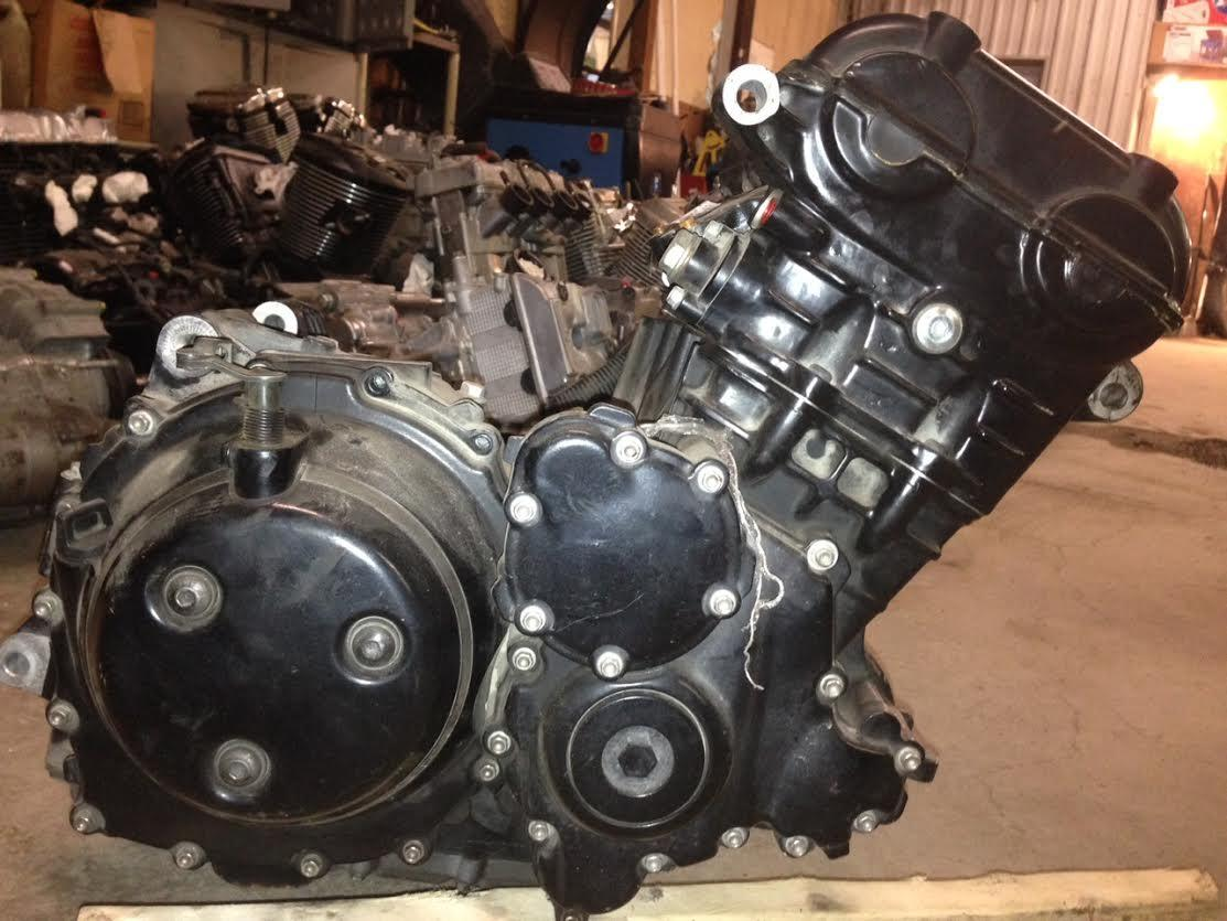 05 Triumph Tiger 955i Engine Motor 18K miles Motor mount welded | eBay