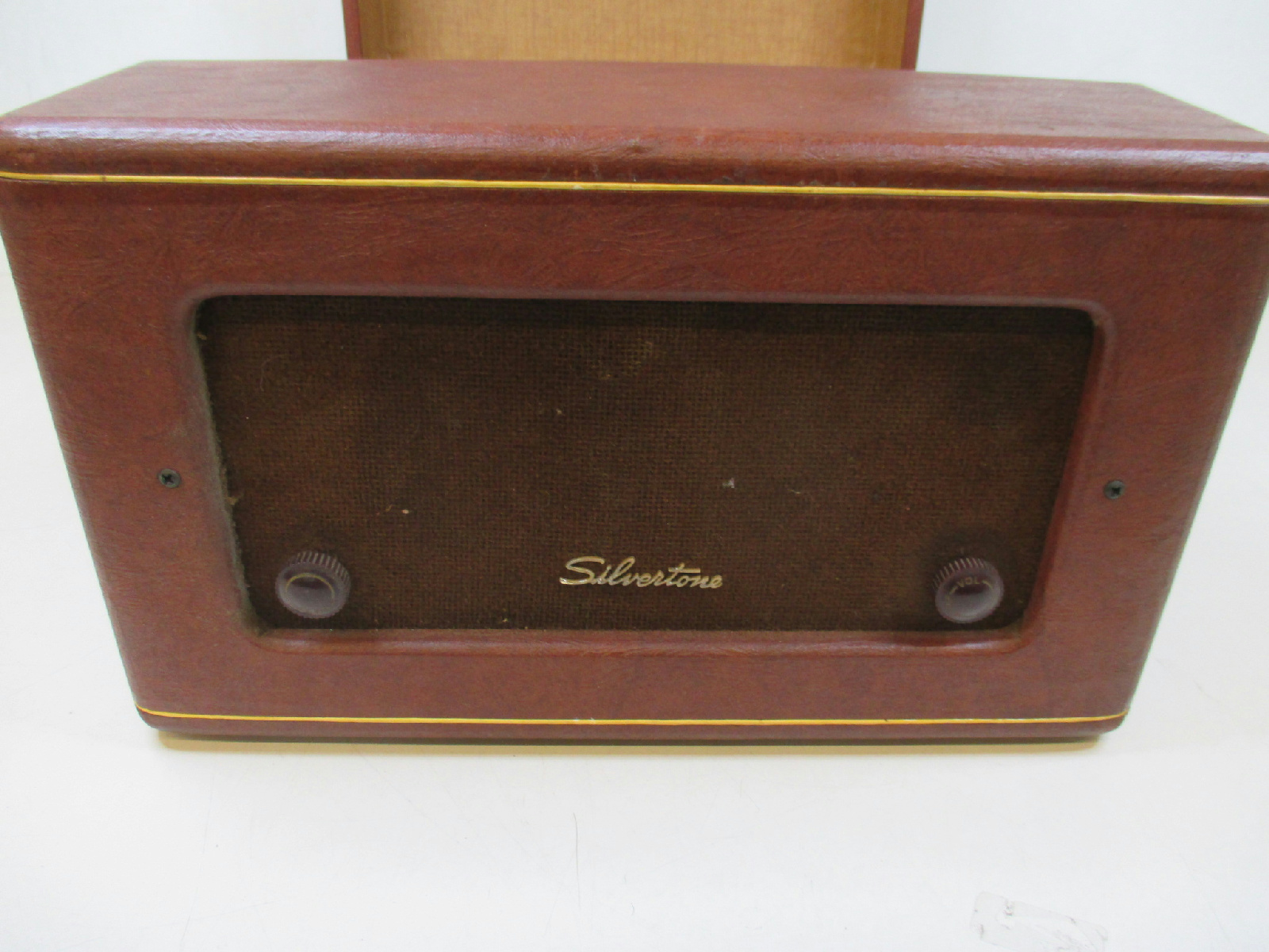 Vintage Silvertone Sears Roebuck Record Player Model 1249 ...