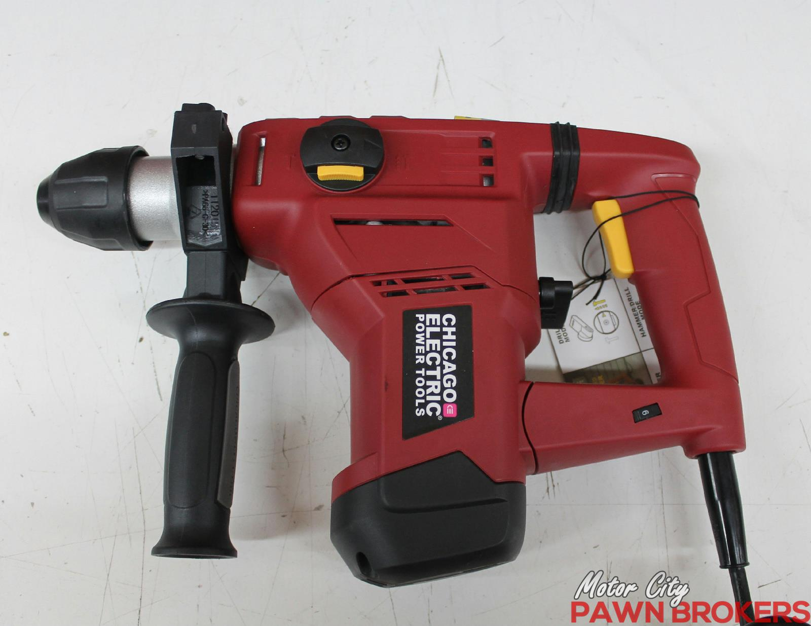 Wiring Diagram For Electric Drill : Chicago electric hammer drill wiring diagram