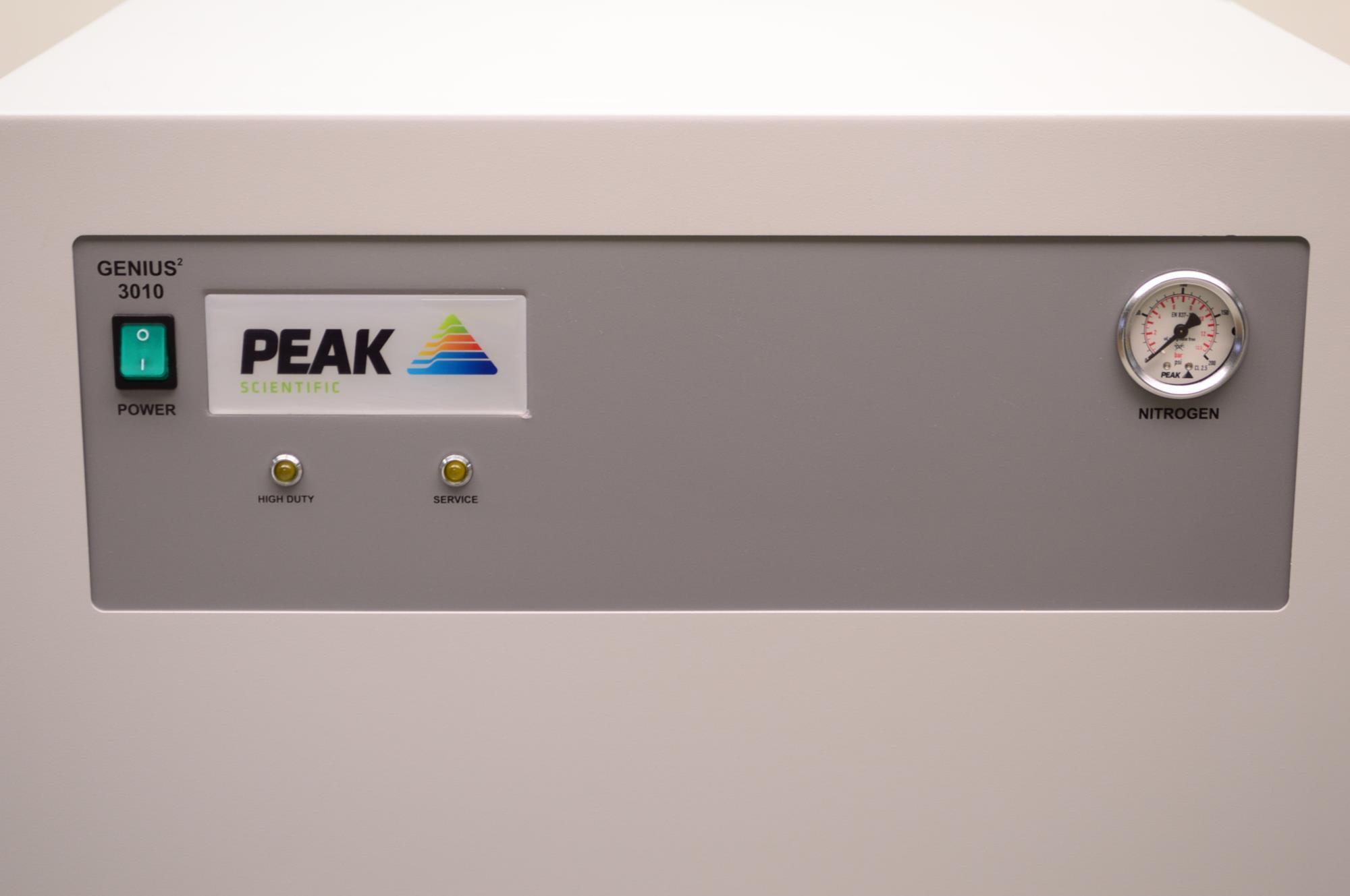 peak scientific nitrogen generator manual