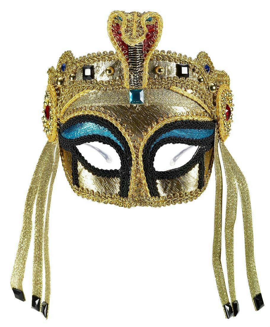 Forum novelties women 39 s deluxe egyptian female mask with for Egyptian masks templates
