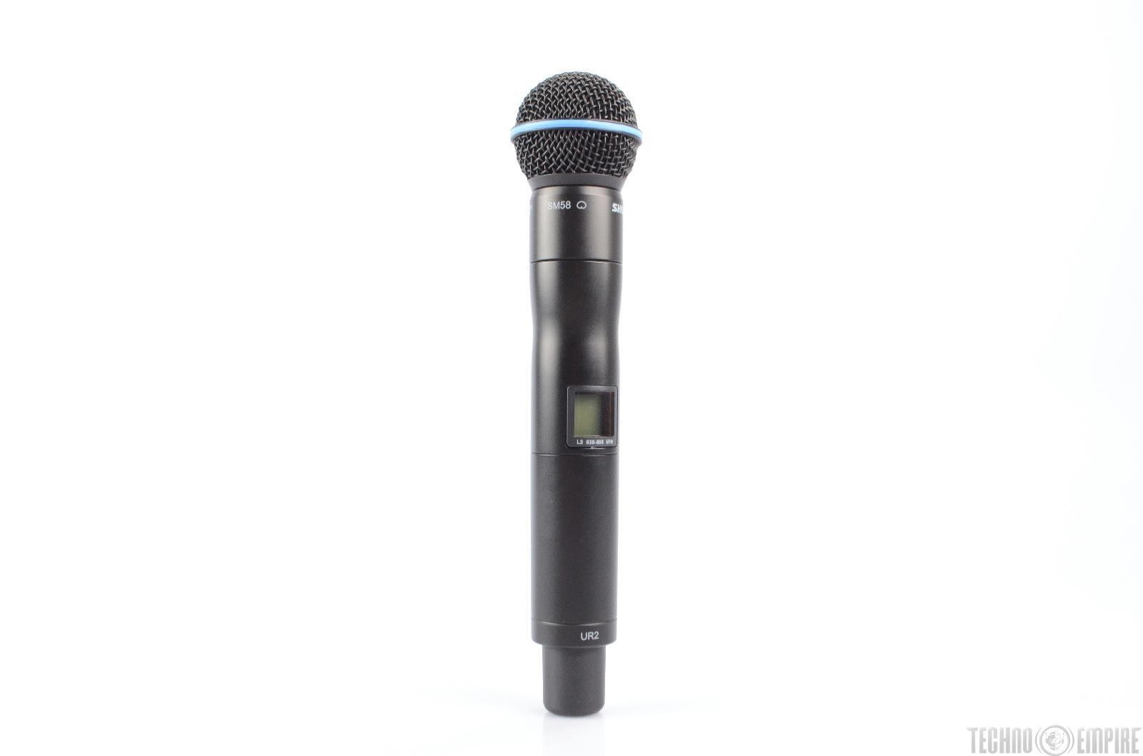 shure ur2 sm58 wireless handheld microphone l3 638 698 mhz 22918 ebay. Black Bedroom Furniture Sets. Home Design Ideas