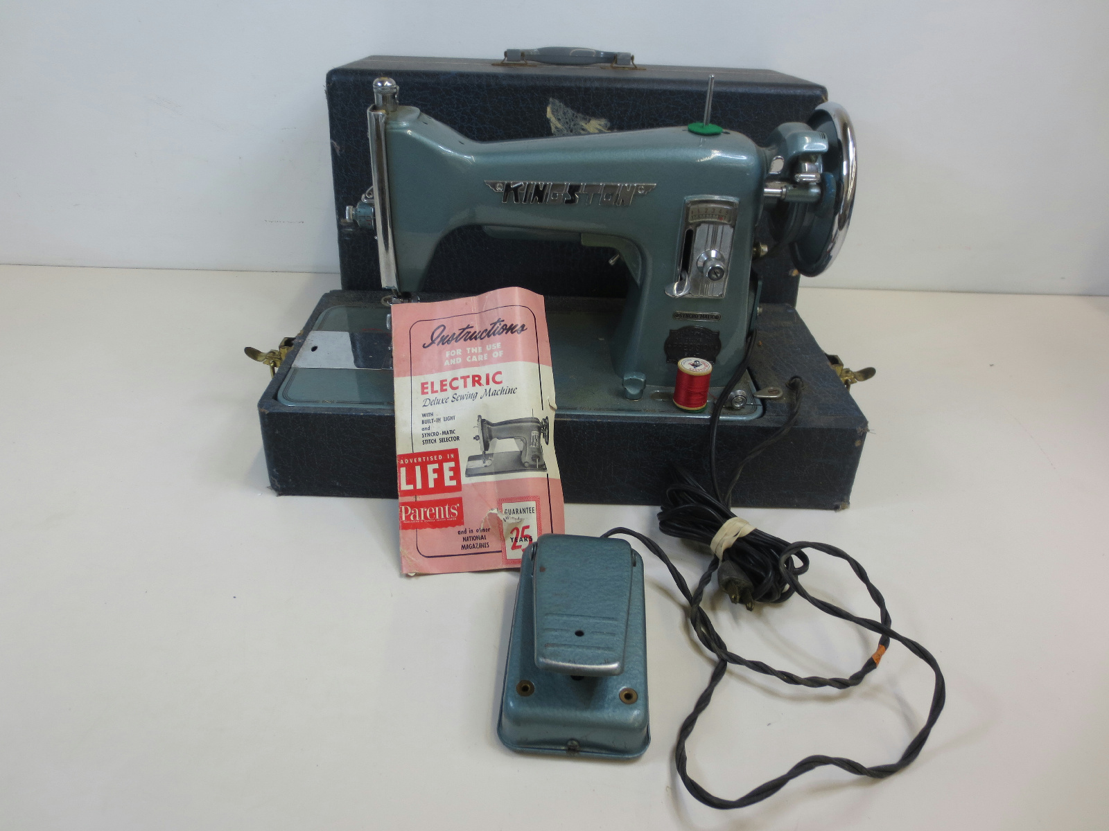 kingston deluxe sewing machine