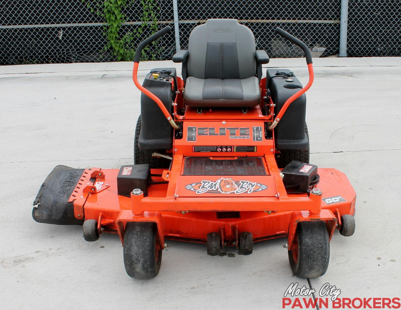 Bad Boy ZT Elite zero turn 60 mower   Lawnmowers & Leaf
