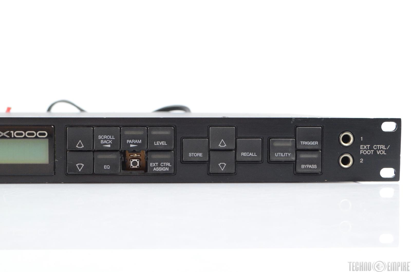 yamaha spx1000 digital multi effects processor 22959 ebay. Black Bedroom Furniture Sets. Home Design Ideas