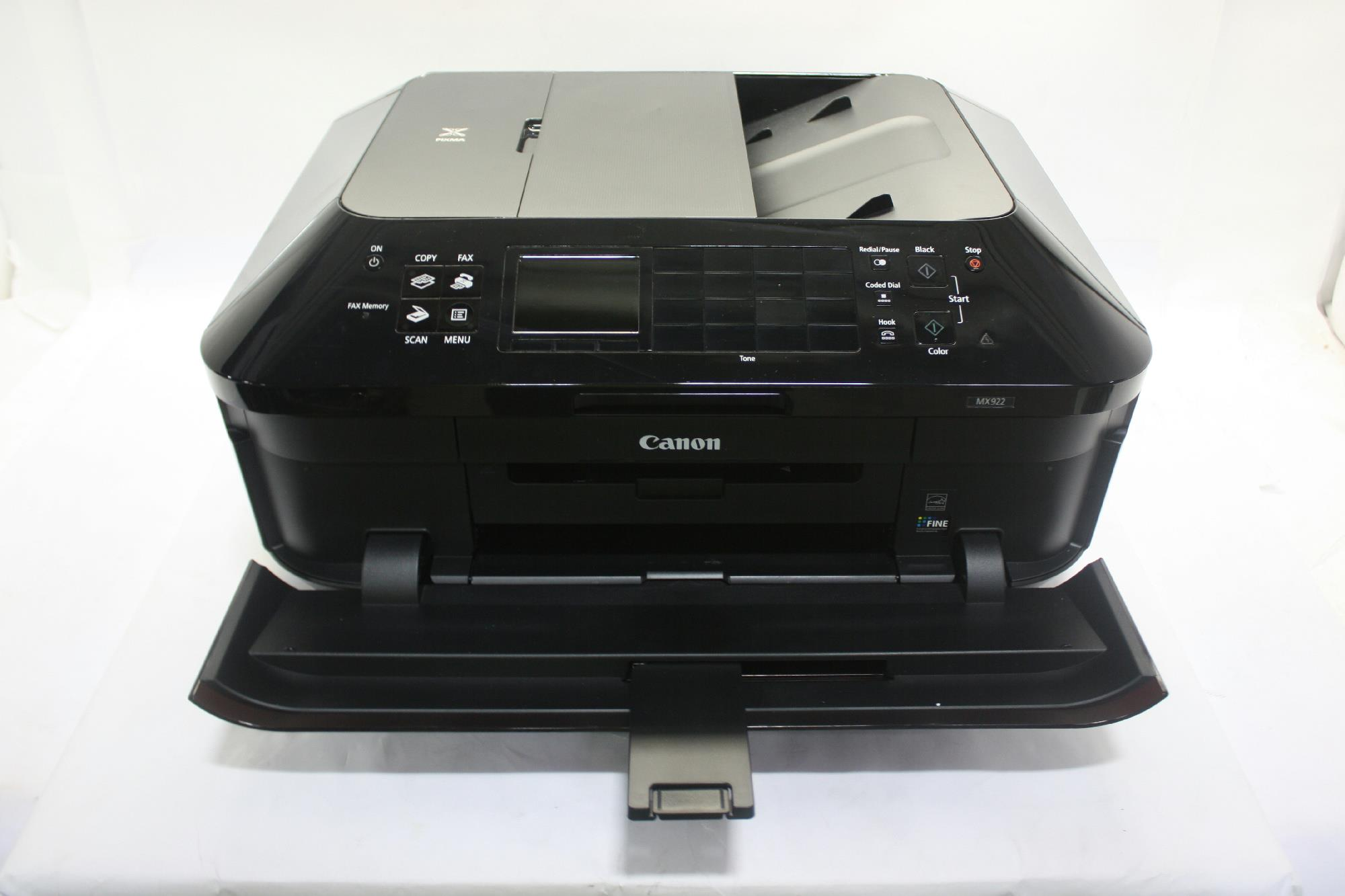Canon usa pixma mx922 wireless for parts aio inkjet for Canon printer templates