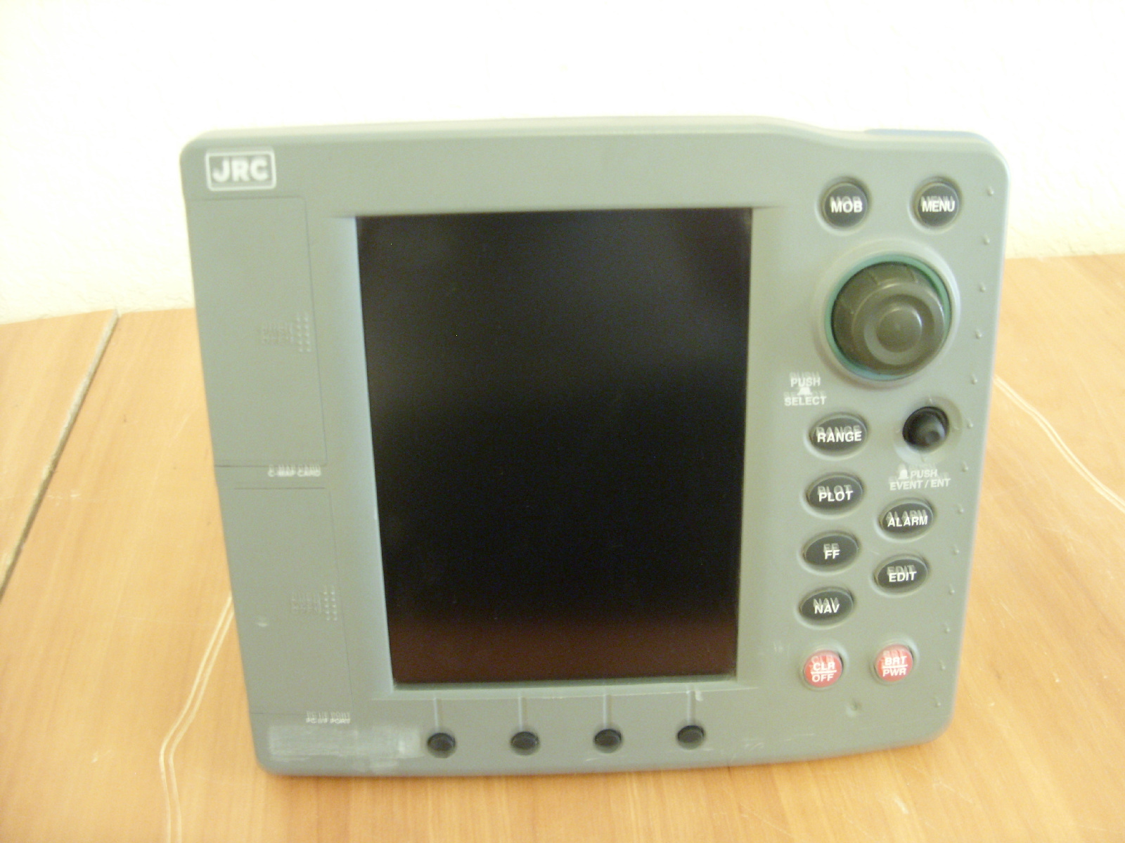 jrc plot 500f color fishfinder sounder chartplotter