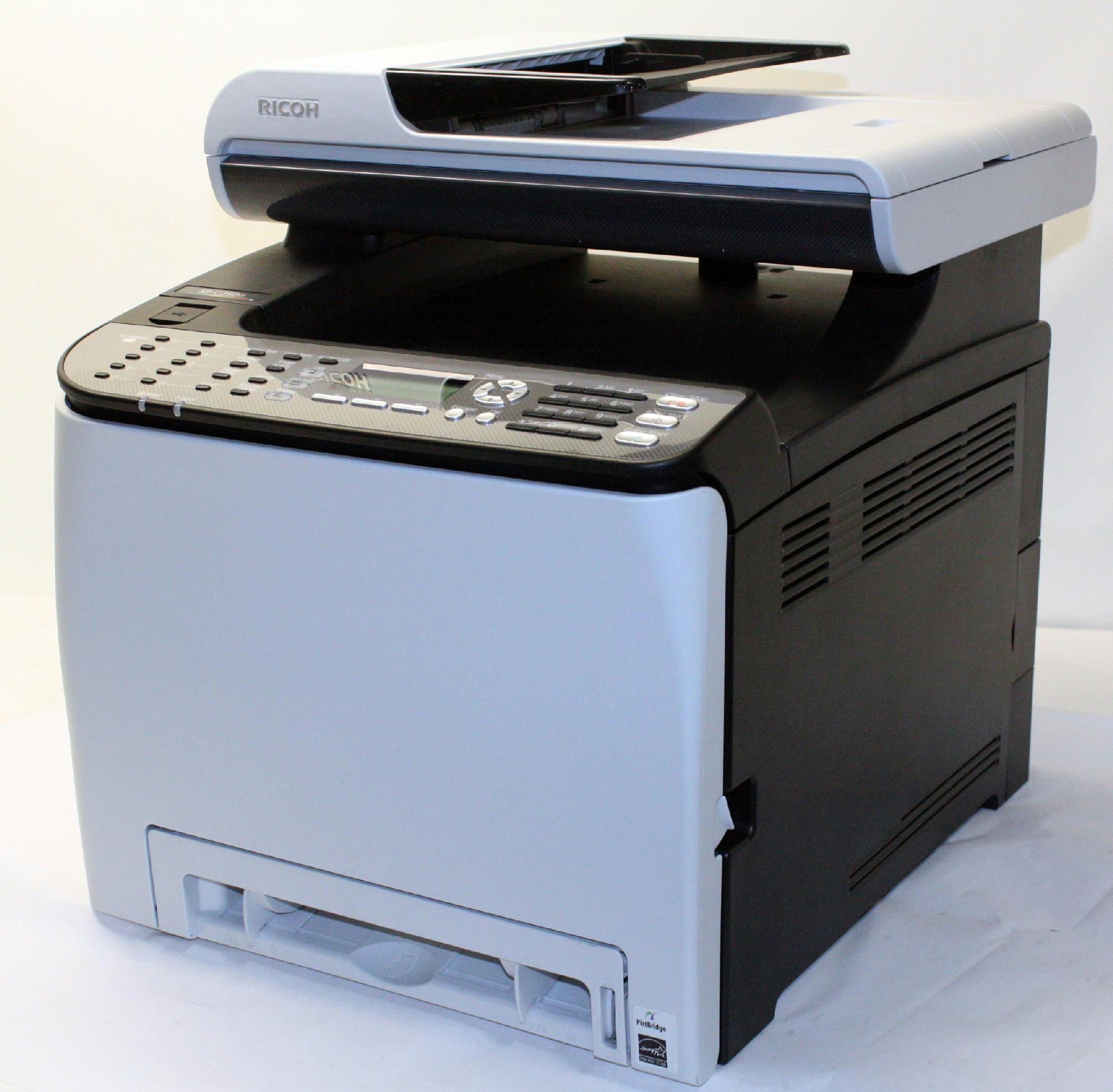 Color wireless printer laser - Ricoh Sp C250sf Color Laser Multifunction Printer 407523 For Parts 800129710