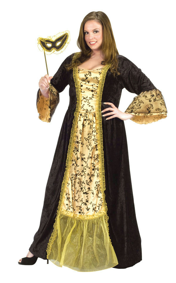nice plus size masquerade outfits ideas