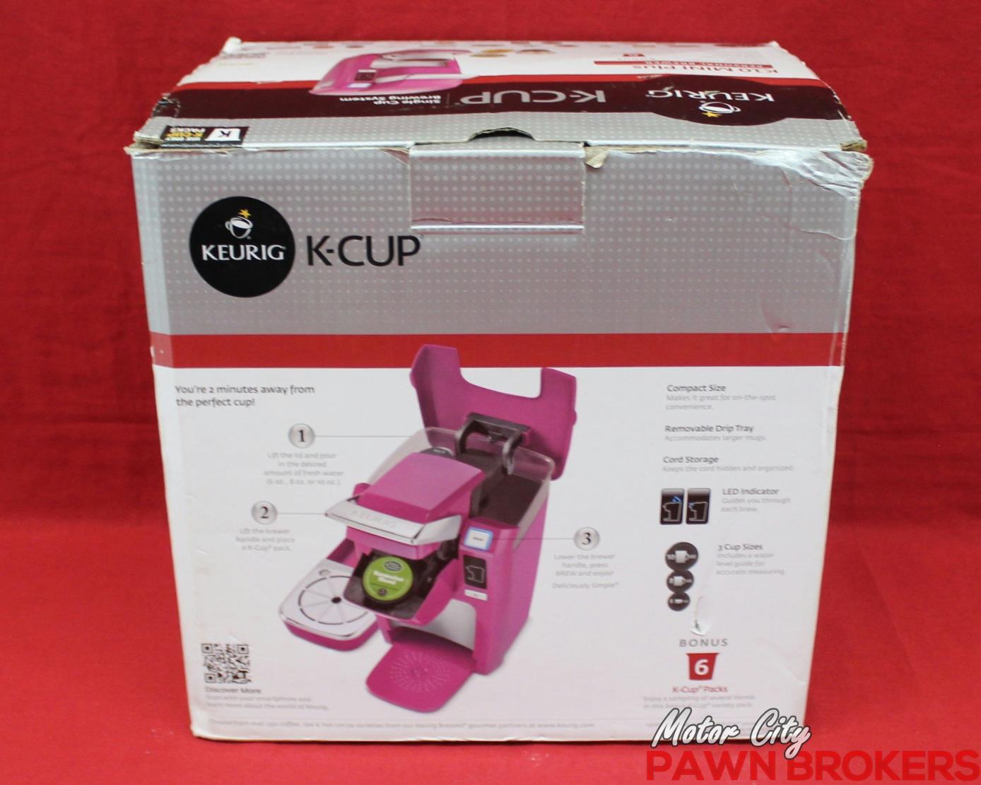 Keurig K10 Mini Plus - Pink - Single Cup - Household Coffee Maker - NEW eBay
