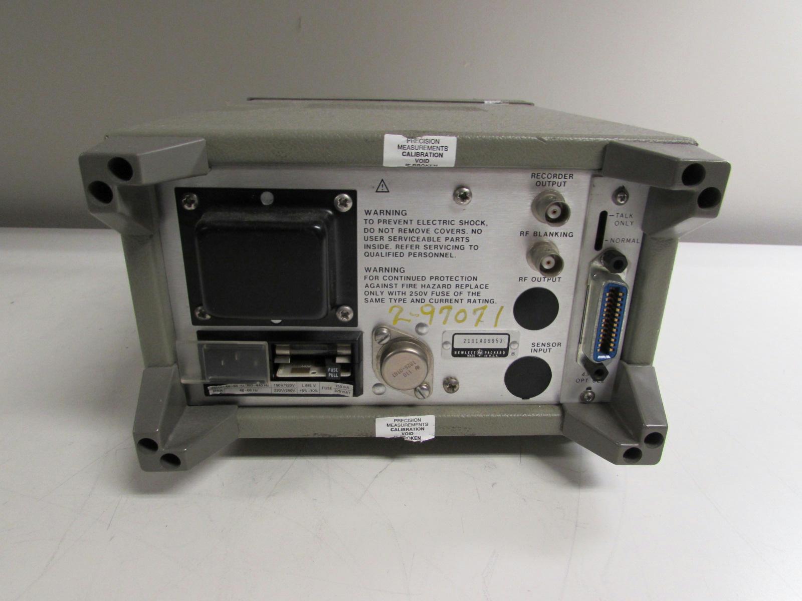 Digital Rf Power Meters : Agilent keysight a digital rf power meter ebay