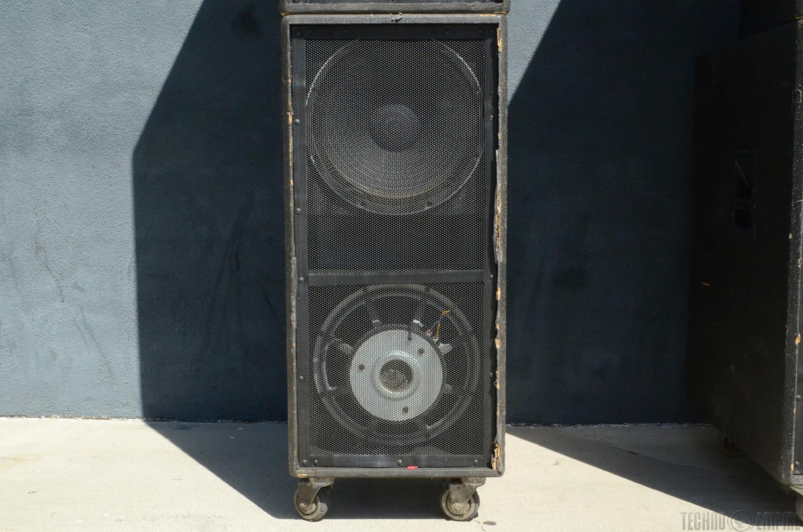 Peavey Dth 215b 4210 4x Pa Speaker Monitor Loudspeaker