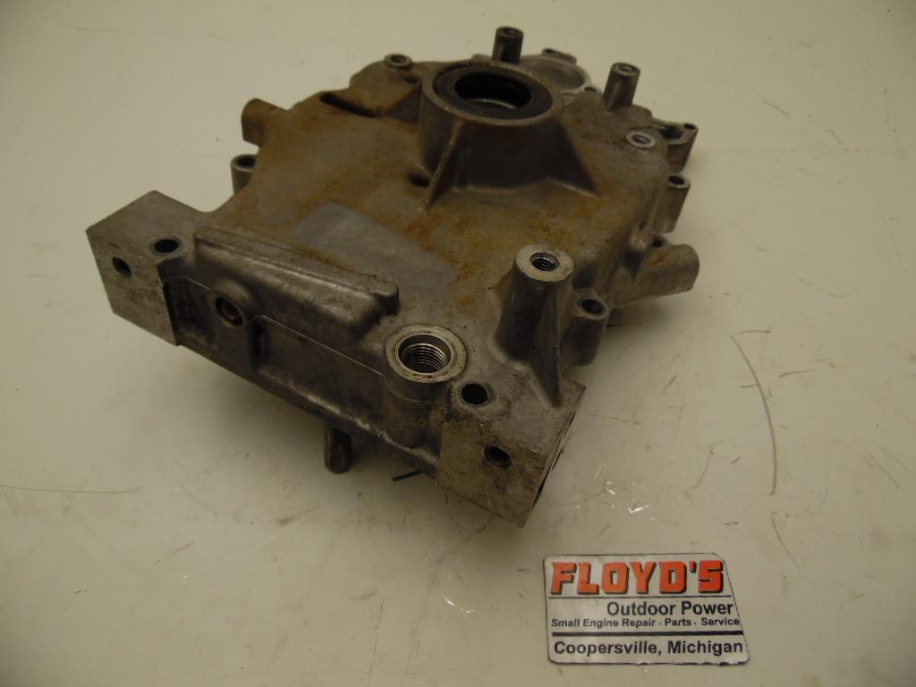 john deere 445 kawasaki 22hp v-twin engine crankcase sump ... john deere lawn mower engine diagram