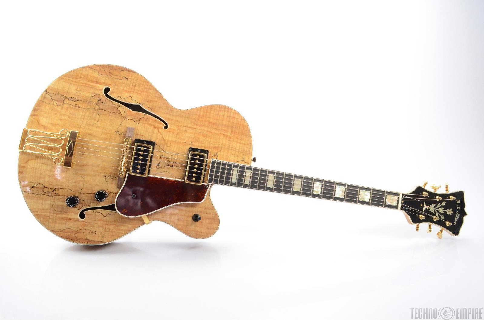 RC Allen Leader Custom Hollowbody Archtop Electric Guitar w/ Case RARE! #23199