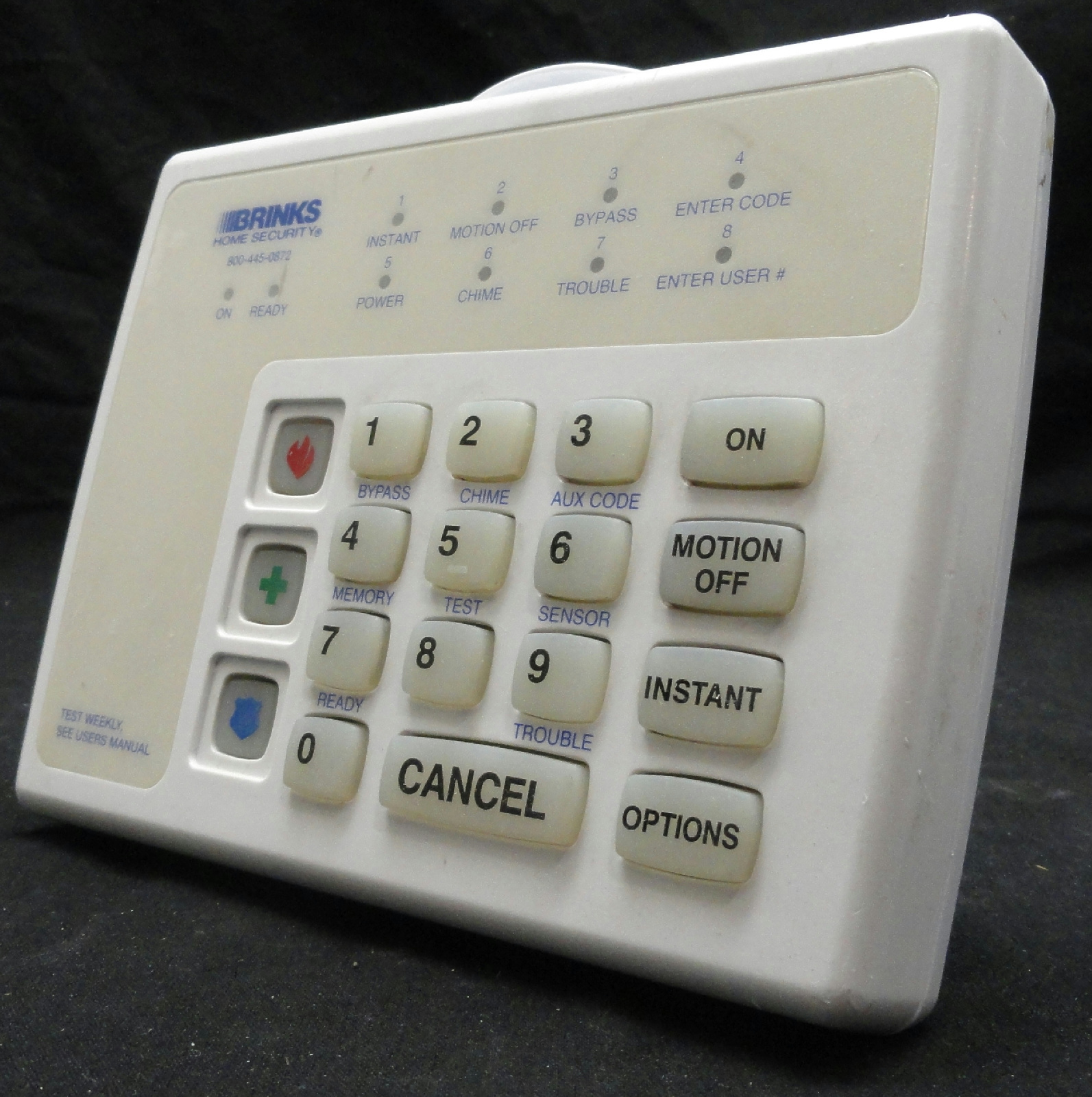 38x assorted brinks broadview security alarm keypads for Brinks home security
