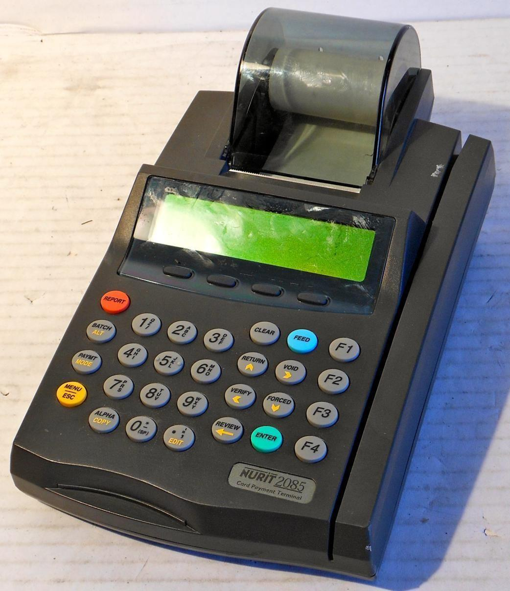 nurit 2085 credit card terminal paper · nurit 2085 no paper mode it keeps saying no paper mode and wont print batch - verifone nurit 2085 credit card question.